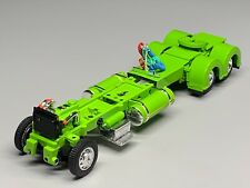 """1/64 DCP PARTS LIME GREEN 300"""" PETERBILT 359/379/389  CHASSIS W/ SHOW FENDERS"""