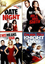 DATE NIGHT/MR. & MRS. SMITH/THIS MEANS WAR/DAY & KNIGHT QUAD FEATURE (NEW DVD)
