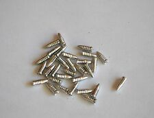 1 SET OF BULLET STYLE ALLOY FLIGHT PROTECTORS SILVER