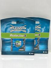 16 x Wilkinson Sword Protector 3 Rasierklingen   Neu / OVP