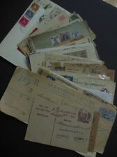 INDIA : Property as received. 51 Postal History items covering many areas.