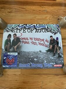 Life Of Agony Vintage Poster River Runs Red Nyhc