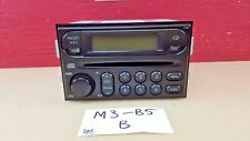 *2005-2006 Nissan X-Trail Single Disc Cd Radio Player 28185 EQ600 OEM
