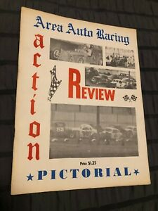 RARE 1968 VINTAGE AREA AUTO RACING REVIEW PICTORIAL BOOK