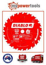 Freud D0624A Diablo 6-1/2-inch 24T ATB Framing Saw Blade with 5/8-inch Arbor