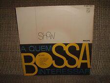 A QUEM BOSSA INTERESSAR LP VG+ MONO Feat. RIO 65 TRIO/OS CARIOCAS/LENY ANDRADE++