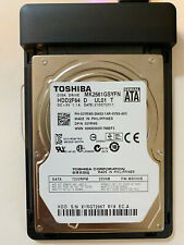"Working Formatted Toshiba SATA HDD2F24 250GB Internal 7200RPM 2.5"" (MK2561GSYN)"