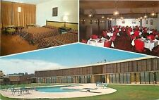 Buffalo Wyoming~Cross Roads Inn~1973 Postcard