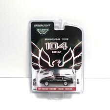 "Greenlight | 1:64 1978 Pontiac Firebird ""Macho Trans Am"" Black Red | In Stock"