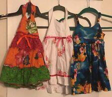 Lot of 3 Blueberi Boulevard & Pacific Legend Girls Size 3T Sundresses Cotton