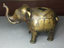 Original early Mughal brass elephant from 16th century
