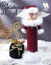 Annie's Attic Crochet Christmas Angel Pattern Leaflet #870918 Barbie Fashion