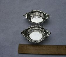 PAIR Vintage GORHAM Sterling CROMWELL #4780 Pattern NUT CUPS-No Mono