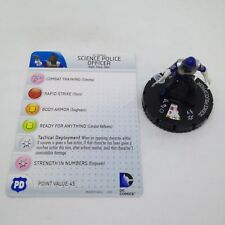 Heroclix Superman and Legion set Science Police Officer #004 Common fig w/card!