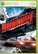 Used Xbox 360  Burnout Revenge MICROSOFT JAPAN JP JAPANESE JAPONAIS IMPORT