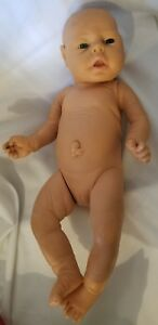"Vtg Emson Anatomically Correct  Newborn Baby Girl Doll Vinyl 18"" Reborn"