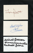 WARREN WELLS OAKLAND RAIDERS WR SIGNED AUTOGRAPHED INDEX CARD 3X5 **RARE AUTO**