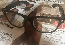 Brazilian Blowout Original Solution Eye Protective Glasses Pofessional 2 PAIR