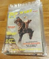 Lot of 12 OLD WEST Magazines 1970-1979 known for rare stories - non fiction