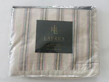 BN~Ralph Lauren CLASSIC HAWK SPRING KING SIZE FLAT Sheet 350TC SUPIMA COTTON Bed