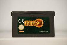 Golden sun EUR version English gameboy advance game boy GBA original DC2189