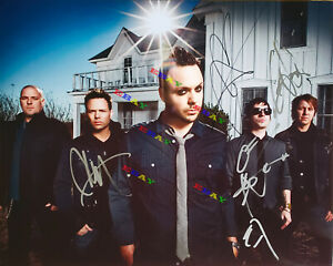 Blue October Band Autographed signed 8x10 Photo Reprint