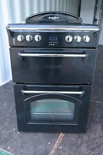 Leisure GRB6CVC Heritage Electric Black Double Oven 60cm Electric Cooker