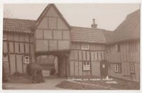 Dedham, Courtyard, Old Flemish Houses Essex RP Postcard, B662
