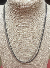 """NEW SILPADA 'Chain Reaction' Necklace N3334 Sterling Silver 20"""" IN SILPADA BOX"""