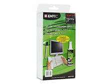 EMTEC Monitor Reinigung Set Spray Tücher Display Bildschirm Tablet PC Reiniger