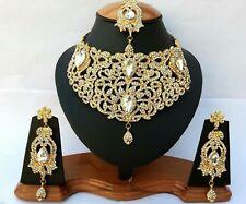 3 Teilig Türkisch Gold Traditionell Gold Orientalisch Schmuck Afghanisch Sari