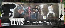 RARE/OOP/SEALED Elvis Through the Years 1954-1970 figure box set McFarlane Toys