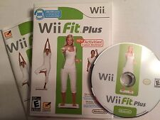 Wii Fit Plus (Nintendo Wii, 2009) Game Only. Tested. FREE Shipping