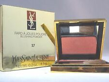 YVES SAINT LAURANT -  FARD A JOUES POUDRE - BLUSHING POWDER - #37 - NEW IN BOX