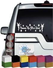 Powered by Bitch Dust Vinyl Car Window, Bumper Sticker / Graphic