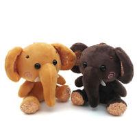 EE_ Mini Elephant Plush Stuffed Doll Pendant Keychain Key Chain Charm Bag Decor