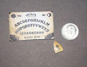 OUIJA BOARD SET Artisan made Miniature 1:12 Scale