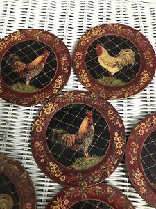 Rooster Coasters Vintage