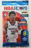 2020-21 Panini NBA Hoops Packet - 8 cards per packet - FREE SHIPPING IN STOCK