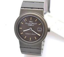 IWC Porsche Design lady green Titanium 26mm watch new old stock pristine w/case