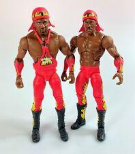 Harlem Heat WWE Mattel Elite Series 46 Figures Lot Set Booker T Stevie Ray WCW