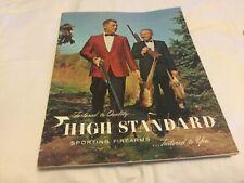 Original High Standard 1967 firearms catalog shotguns rifles, pistols, revolvers