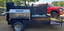 Whole Hog Lamb Goat Pig Rostisserie Godzilla Bbq Grill Smoker Trailer Food Truck