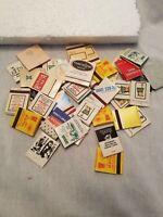 vintage matchbooks lot Of 38 plus matchbook holder