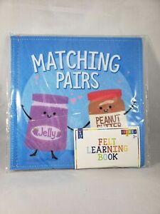 Horizon Group Felt Learning Book - Matching Pairs