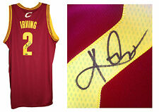 Kyrie Irving signed Cavaliers Swingman jersey L+2 auto Panini COA NBA Finals