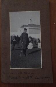 MAROC :  Photo Souvenir De Marrakech .1918.