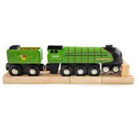 Bigjigs Rail Wooden Dwight D. Eisenhower 60008 Train Children's Replica
