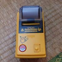 Game Boy Pocket Printer PIKACHU Nintendo YELLOW MGB-007 Gameboy