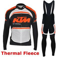 Completo Invernale/Cycling Jersey pants Team KTM 2016 Thermal Winter taglia L